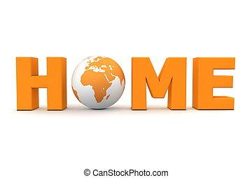 Home World Orange