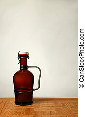 Homebrew Beer in Swing Top Growler