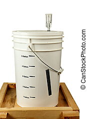 Homebrew Fermenting in a Bucket