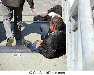 Homeless in Chelyabinsk