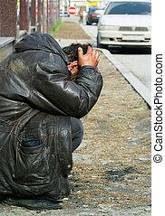 Homeless in despair