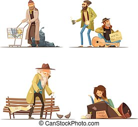 Homeless People Compositions