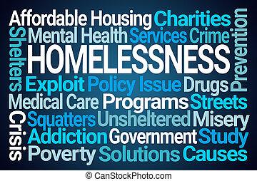 Homelessness Word Cloud