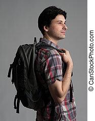 homem backpack