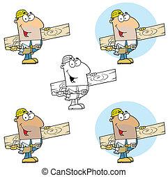 homem, carpinteiro