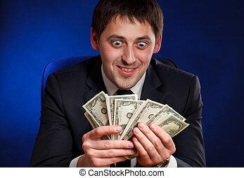 homem dinheiro