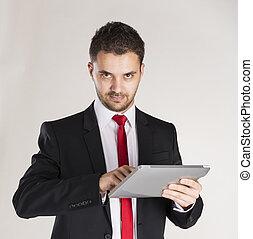 homem negócio