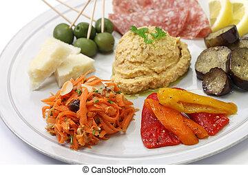 homemade assortment of appetizers - homemade assortment of...