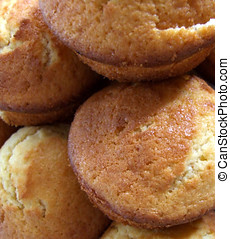 Homemade Cakes - Small homemade cakes, mini muffins in a...