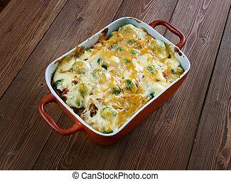 Chicken Divan - Homemade Chicken Divan - chicken casserole ...