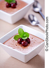 Homemade Chocolate Pudding Cups