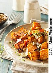 Homemade Cooked Sweet Potato