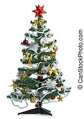 decorated Christmas tree - homemade decorated Christmas tree...