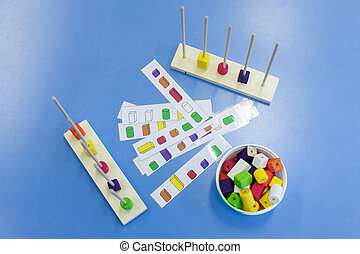 Homemade, do-it-yourself educational toys