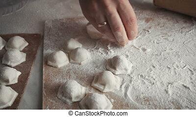 Homemade Dumplings Making - Handmade Dumplings Making...