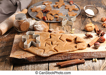 homemade gingerbread cookie