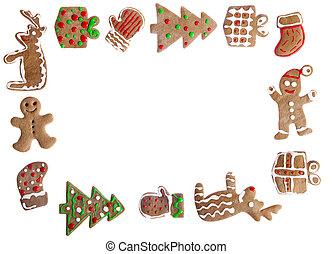 Gingerbread cookies - Homemade Gingerbread cookies with...