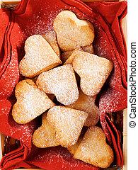 Heartshape Cookies - Homemade Heartshape Cookies