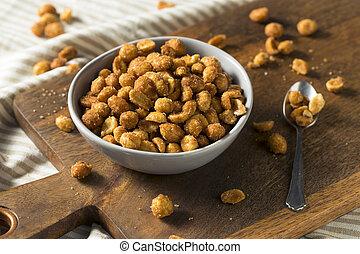 Homemade Honey Roasted Peanuts