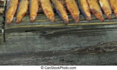 hot Smoked fish