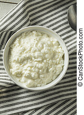 Homemade Low Fat Cottage Cheese Ready to Eat