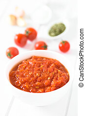 Homemade Marinara or Pomodoro Tomato Sauce - Homemade ...