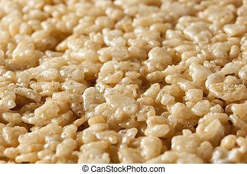Marshmallow Crispy Rice Treat - Homemade Marshmallow Crispy...