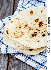 Homemade Naan Flatbread  - Homemade Naan Flatbread