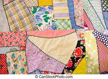 patchwork crazy quilt
