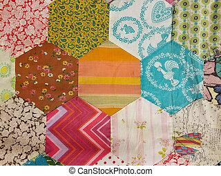 homemade patchwork quilt design