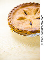 Homemade pie - Fresh homemade pie made from organic berries.
