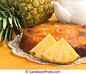 homemade pineapple cake