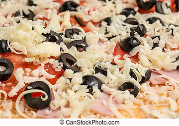 Homemade Pizza Topping