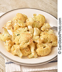 Homemade roasted cauliflower