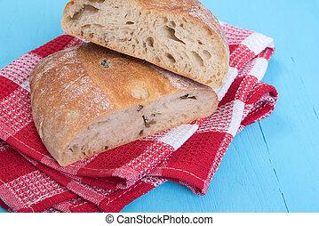 Homemade Rustic Ciabatta Bread