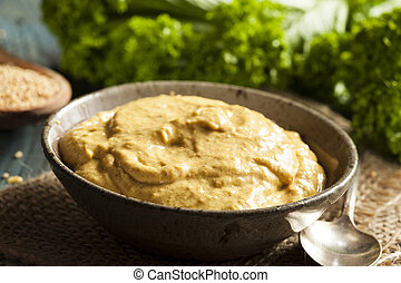 Homemade Spicy Mustard Sauce