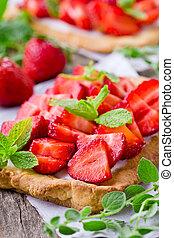 Homemade Tasty Strawberry Pie