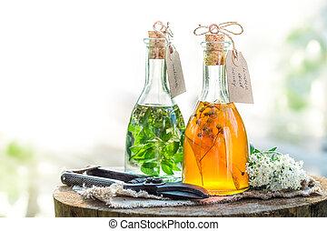 Homemade tincture as natural medicine