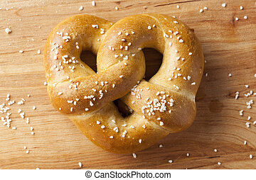 Homemade Warm Soft Pretzel
