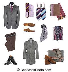 homens, acessórios, roupas