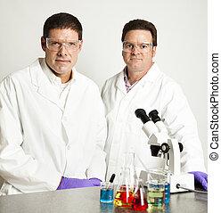 homens, de, ciência