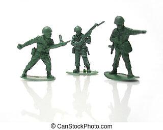 homens, exército