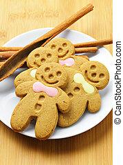 homens gingerbread, natal
