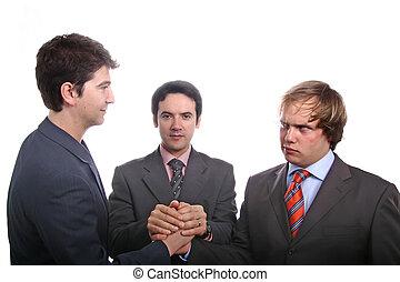 homens, negócio