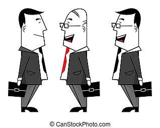 homens negócios
