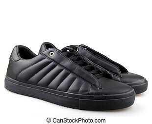 homens, sapatos atletismo