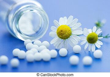 homeopático, medicação