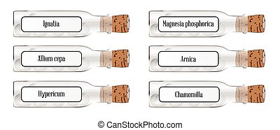 homeopático repara, garrafa, lags