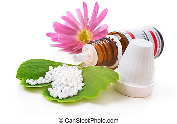 Alternative medicine - Homeopathic medication with ...