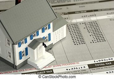 Tax - Homeowner Tax Concept